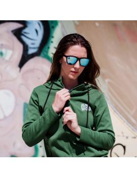 Sudadera Deportiva Mujer para CrossFit Verde | Mr.Wod