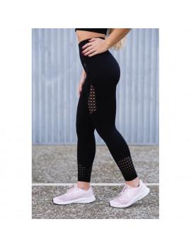 Leggings deportivos de Cintura Alta - Negro | Mr.Wod