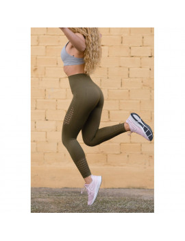 Leggings Green Seamless de...