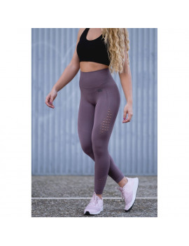 Leggings deportivos Mr.WOD -Violeta