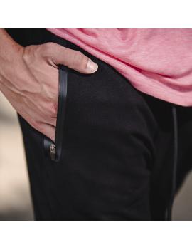Pantalón de chándal Negro para Hombre Tappered | Mr.WOD