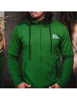 Sudadera deportiva verde crossfit MrWod