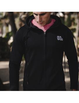 Sudadera Deportiva Hombre para CrossFit Negra | Mr.Wod